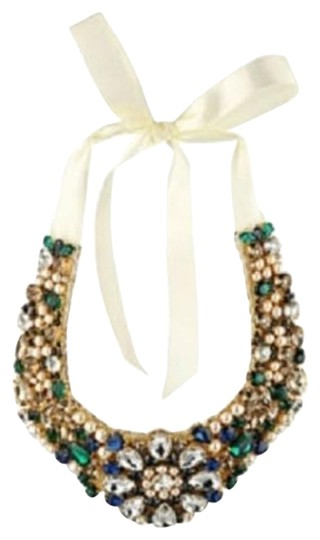 Kate Spade Limited Run New w/ Tags Kate Spade Pearl Crystal Bib Necklace MSRP$498 Bridal/Wedding Image 0