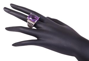 David Yurman David Yurman Amethyst and Diamond Wheaton Ring sz 7