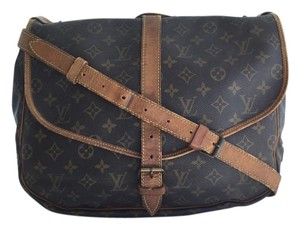Louis Vuitton Crossbody Saumur Saddle Shoulder Bag