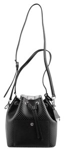 Michael Kors Black Bucket Cross Body Bag