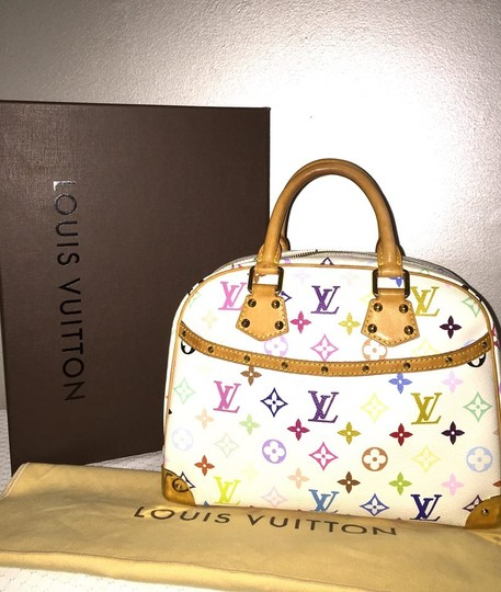 Louis Vuitton Satchel in white multi color Image 1