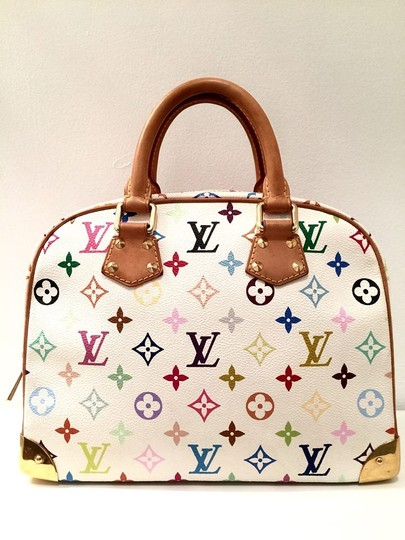 Louis Vuitton Satchel in white multi color Image 10