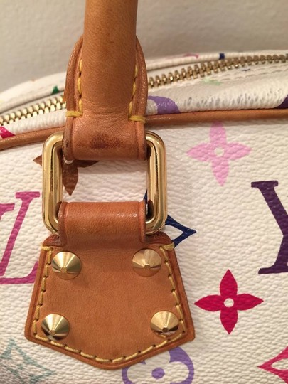 Louis Vuitton Satchel in white multi color Image 11