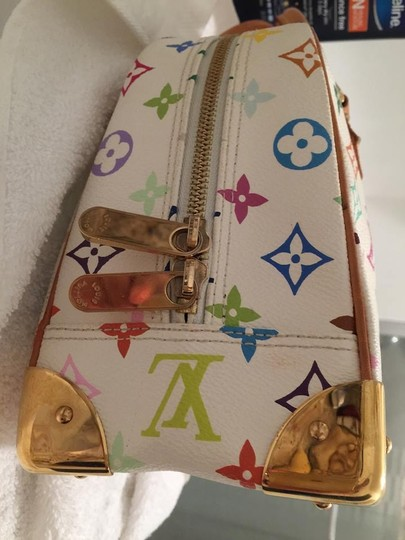Louis Vuitton Satchel in white multi color Image 3