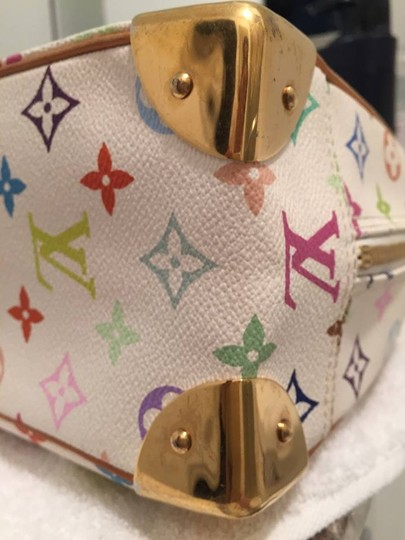 Louis Vuitton Satchel in white multi color Image 5
