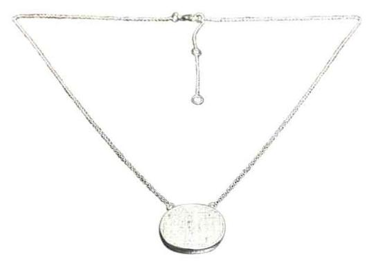 Other Knowles&Co Sterling Silver & F aux Diamond Necklace Image 1