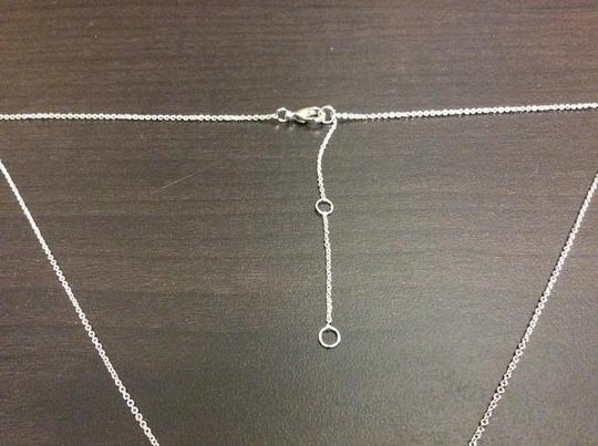 Other Knowles&Co Sterling Silver & F aux Diamond Necklace Image 5