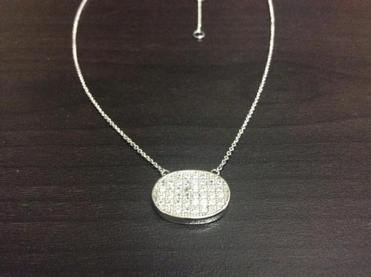 Other Knowles&Co Sterling Silver & F aux Diamond Necklace Image 6