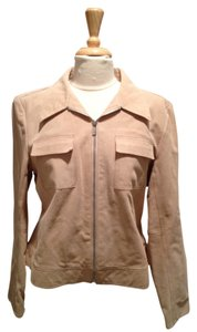 MICHAEL Michael Kors Leather Suede Motorcycle Jacket