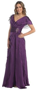 Eggplant Us Fairytailes Mother Of The Bride Formal Evening Dress Dress