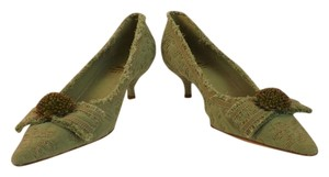 Moschino Green Pumps