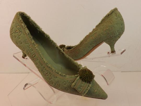 Moschino Green Pumps Image 11