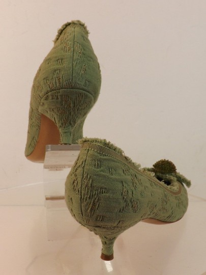 Moschino Green Pumps Image 2
