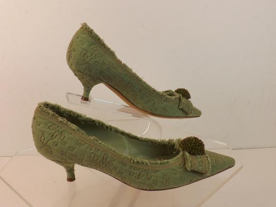 Moschino Green Pumps Image 3