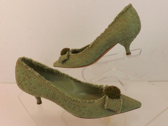 Moschino Green Pumps Image 4