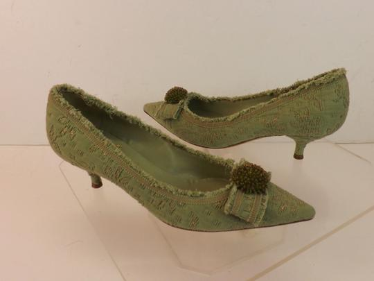 Moschino Green Pumps Image 7