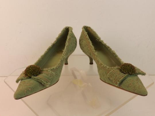 Moschino Green Pumps Image 8