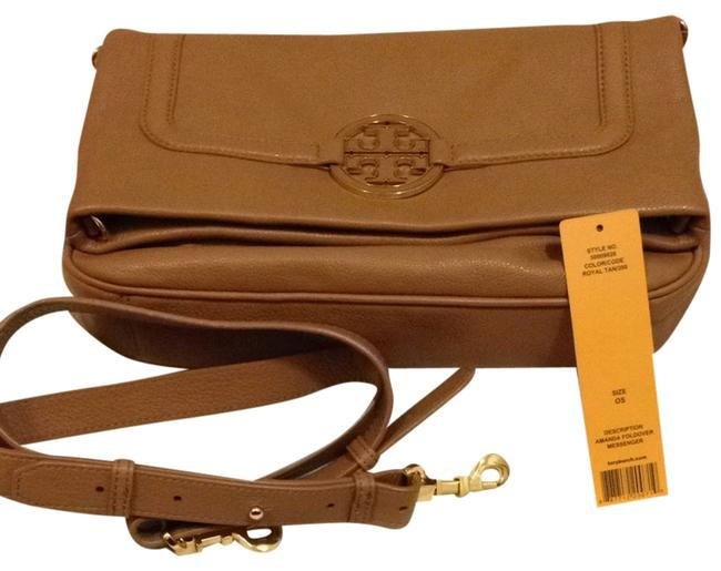 Item - Amanda Fold Over & Matching Wallet Royal Tan Messenger Bag