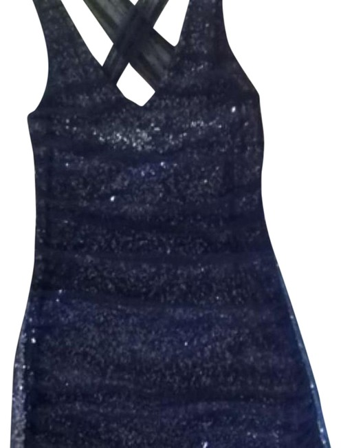 Preload https://img-static.tradesy.com/item/16511461/express-black-and-silver-above-knee-cocktail-dress-size-2-xs-0-1-650-650.jpg