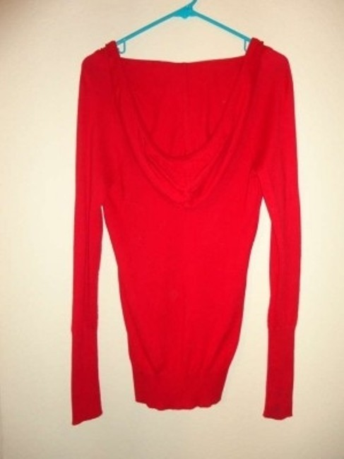 American Eagle Outfitters #hood #longsleeve #red #hooded #hoodie Sweater