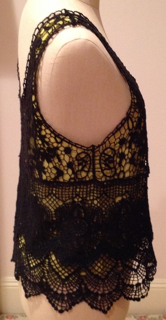 Other Top Black and chartreuse Image 2