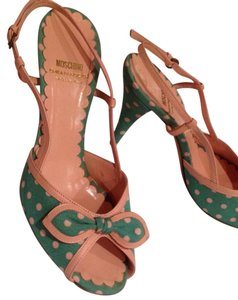 Moschino Kelly green Sandals