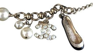 Chanel Chanel Charm Bracelet Pearl Shoe Tag Attached