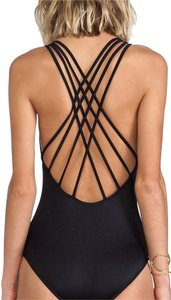 SeaFolly Shimmer Lattice Back Maillot