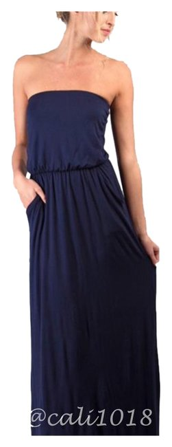 Preload https://img-static.tradesy.com/item/16512535/navy-new-2-color-options-and-black-tube-long-casual-maxi-dress-size-6-s-0-1-650-650.jpg