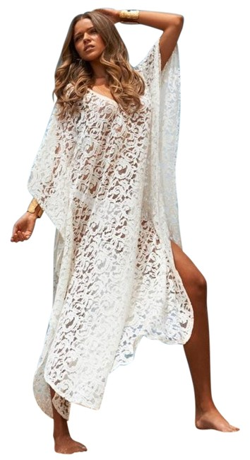 Item - Cream Abigail Kaftan Cover-up/Sarong Size OS (one size)
