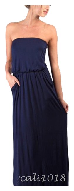 Preload https://img-static.tradesy.com/item/16512580/navy-new-2-color-options-and-black-tube-long-casual-maxi-dress-size-8-m-0-1-650-650.jpg