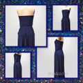 Navy Maxi Dress by Other Maxi Strapless Pockets Long Tube Image 2