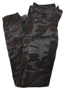 London Jean Straight Pants Camo