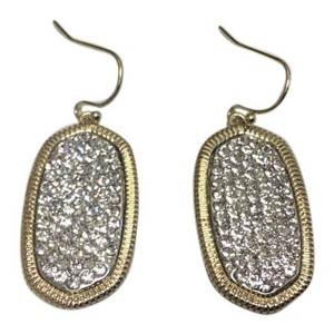 Other French Hook Gold Electro Plated Earrings