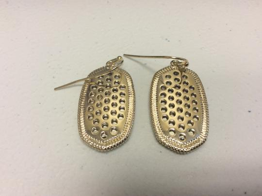Other French Hook Gold Electro Plated Earrings Image 3