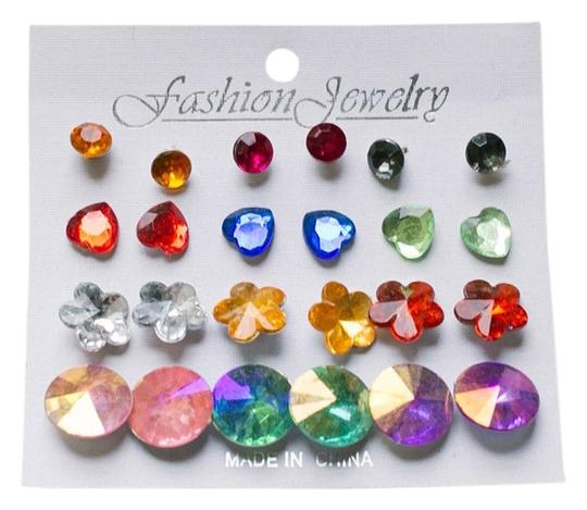 Other Multi-Colored Shapes Studs