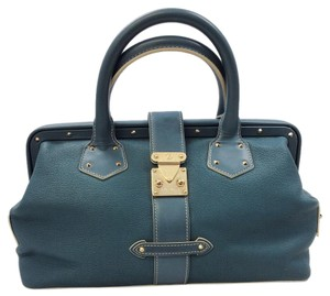 Louis Vuitton Satchel in Blue Gold
