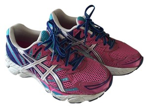 Asics Running Lightweight Colorfull Neon/pink/blue Athletic