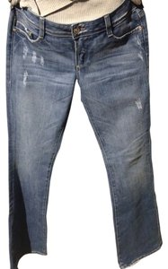 bebe Boot Cut Jeans-Distressed
