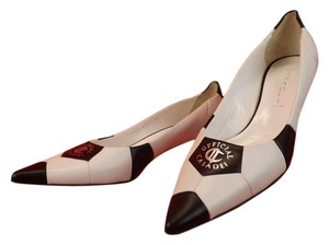 Casadei Black and White Pumps