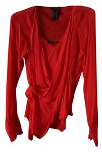 Donna Karan Top Red