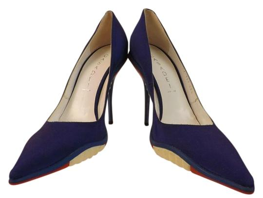 Preload https://img-static.tradesy.com/item/16514473/casadei-blue-bright-canvas-red-and-white-rubber-soles-italy-pumps-size-us-85-regular-m-b-0-1-540-540.jpg