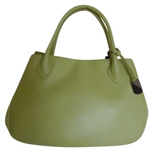 Furla Tote in Lime Green