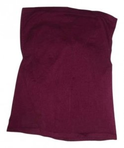 Wet Seal Tube Strapless Top Maroon