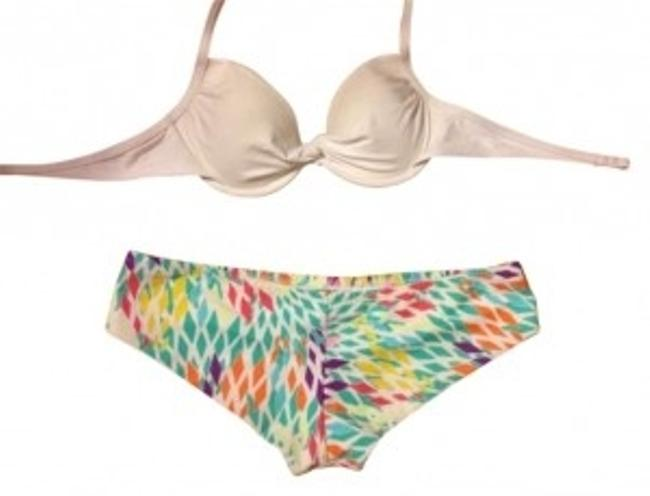 Preload https://item1.tradesy.com/images/victoria-s-secret-white-and-multi-push-up-with-cheeky-bottoms-bikini-set-size-4-s-165150-0-0.jpg?width=400&height=650