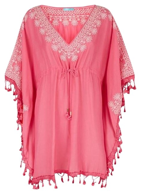 Item - Pink Annette Kaftan Cover-up/Sarong Size OS (one size)