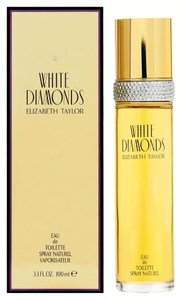 Elizabeth Taylor WHITE DIAMONDS by ELIZABETH TAYLOR Eau de Toilette Spray ~ 3.4 oz / 100 ml