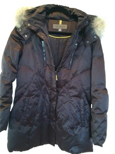 Marc New York Ski-type Zip Front Chocolate Brown Jacket
