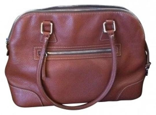 Preload https://item1.tradesy.com/images/dooney-and-bourke-brown-leather-satchel-165160-0-0.jpg?width=440&height=440