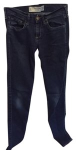 Abercrombie & Fitch Jeans Skinny Jeans Mid Rise Skinny Pants Blue